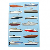A6 Writing Doodle Book - Yachts - 48 Pages - 6 X 4 - by Quire