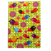 A6 Writing Doodle Book - Bird Art - 48 Pages - 6 X 4 - by Quire