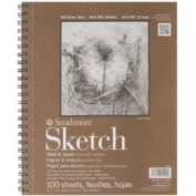 Strathmore Series 400 Sketch Pads 23cm . X 30cm . - Pad Of 100