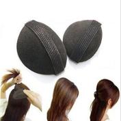 Skuleer(TM)2pcs/Set Princess Styling Hair Fluffy Sponge Pad Increased Hair Princess Head Secret Updo Tuck Fashion Hair Accessories