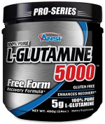 ANSI - L-Glutamine 5000 - Free Form Recovery Formula - Enhanced Recovery (400 Gramme) by ANSI