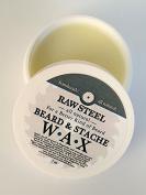 Raw Steel | Beard & Stache Wax 30ml