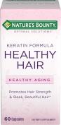 Nature's Bounty Optimal Solutions Healthy Hair Keratin Formula, 60 Capsules