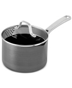 Calphalon 1943876 Classic Nonstick Sauce Pan with Cover, 2.4l, Grey