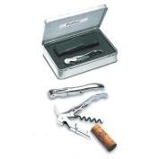 Pulltex pulltap,s Classic Silver Corkscrew SET