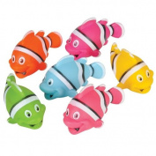 Rubber Clown Fish - 12 per pack