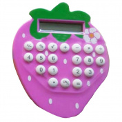 Lovely Strawberry Calculate Scientific Calculators Pink