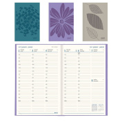 Blueline 2017 Weekly Planner, Perfect Binding, Assorted Colours, Colour May Vary, 23cm x 15cm