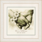 Vervaco Just Married Wedding Record Cross Stitch Kit