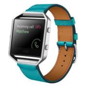 Hotsale! For Fitbit Blaze Smart Watch Luxury Leather Watch band Wrist strap