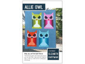 Allie Owl Elizabeth Hartman 3 Quilt Sizes Pattern Piecing