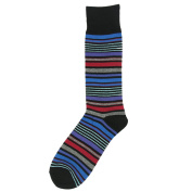 SUTTOS Men's Elite Charged Cotton Mid Calf Crew Dress Socks,2 or 8 Pairs