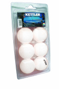 Kettler Table Tennis Balls, 40 mm Regulation Size