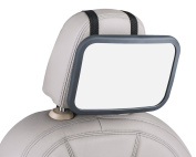 Baby Rear-Facing Back Seat Mirror from Bestie Baby - Adjustable, Large, Wide, Shatterproof Mirror - Easy to Instal and Use - See Your Child While Driving Safely!