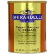 Ghirardelli Chocolate Sweet Ground Chocolate & Cocoa Beverage Mix, 1420ml Canister Thank you for using our service