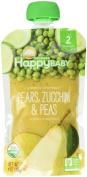 HappyBaby CC Organics Pears, Zucchini & Peas Organic Baby Food