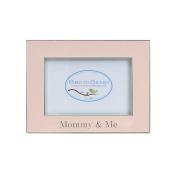 Child to Cherish Mommy & Me Enamelled Frame, Pink