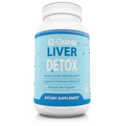 Natural Liver Cleanse Detox Supplement - Improve Digestion - Supports Healthy Liver - All Natural Liver Detox Formula to Remove Toxins - Powerful Antioxidant - Milk Thistle Extract 60 caps 30 servings