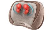 Shiatsu/Vibration massage pillow w/ Heat & Control