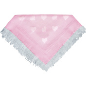 Baby Super Soft Large Shawl Blanket with Hearts