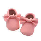 Fulltime(TM) Baby Girl Casual Bowknot Tassels Shoes Toddler Soft Sole Sneakers Shoes