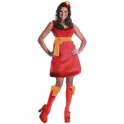 Disguise Sesame Street Elmo Sassy Adult Costume 12-14