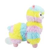 Soft Stuffed Plush Arpakasso Doll Toy Alpacasso Rainbow 36cm