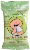 Pack of 8 x Tooth Tissues Dental Wipes - 30 Wipes
