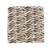 Fleece Hotel Decor Zebra Stripe Pattern Pillow Cushion Case Cover