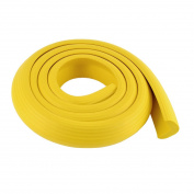 sourcingmap® Table Corner Edge Soft Safety Protection Cushion Guard 2M Long Yellow