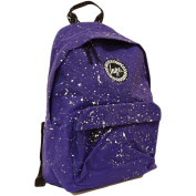 Hype Backpack Bag - School / Work / Gym Rucksack - Purple