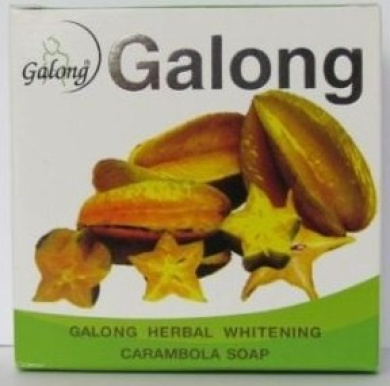 Galong Carambola [Star Fruit] Soap 24 x 150g 100% Natural Deep Cleaning & Whitening