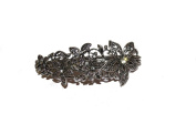 BEAUTIFUL FLOWER CLUSTER BARRETTE - VINTAGE STYLE 10CM HAIR CLIPS