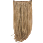 New Collection Women's Hair Wig Attachment 3 Piece Straight Hair Extension Envy-18/24