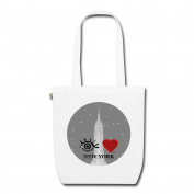 Eye Love New York EarthPositive Tote Bag by Spreadshirt