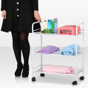 tinxs® Beauty Salon 3/4 Shelf Mini Side Trolley Therapy Dentist Hairdresser