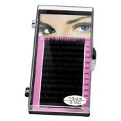 False Eyelashes - TOOGOO(R) Natural False Eyelashes Thick Curl Individual Eye Lash Extensions 10mm