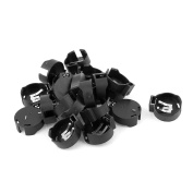 20pcs Plastic Shell CR2450 Cell Button Battery Sockets Holder Case