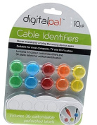 Colour Coded Cable Identifiers ~ Cord & Cable Management for Home and Office
