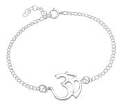 AG2AU Sterling Silver OM (AUM) Bracelet