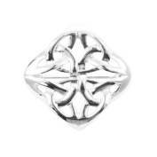 Heritage of Scotland Silver Plated Diamond Celtic Brooch