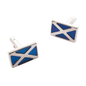 Heritage of Scotland Saltire Cufflinks