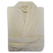 Ladies Bathrobe Long Womens Mens Bath Robe Soft 100% Egyptian Cotton Dressing Gown Towelling Free Size Unisex