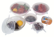 Kuuk Silicone Lids/Food Covers for Cups, Bowls, Cans, Mugs etc. Stretch to Fit