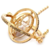 SPINNING HARRY POTTER Time Turner Necklace