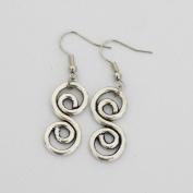 Charm Double Infinity Earrings Infinity Earrings Jewellery Best Gift for Woman Everyday Gift