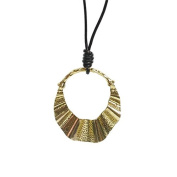 Leather Necklace Pendant 80 cm XL 9547