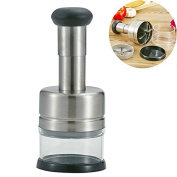 Multifunction Stainless Steel Chopper Creative Kitchen Cutter for Onion, Garlic and Vegetables