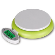 Mini Professional Foldable Digital Kitchen Scale with LED Display 1g-5kg