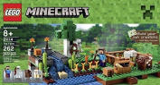 Lego Minecraft Toys Premium Educational Sets Creationary Game With Minifigures For 8 Year olds Childrens Farm Box